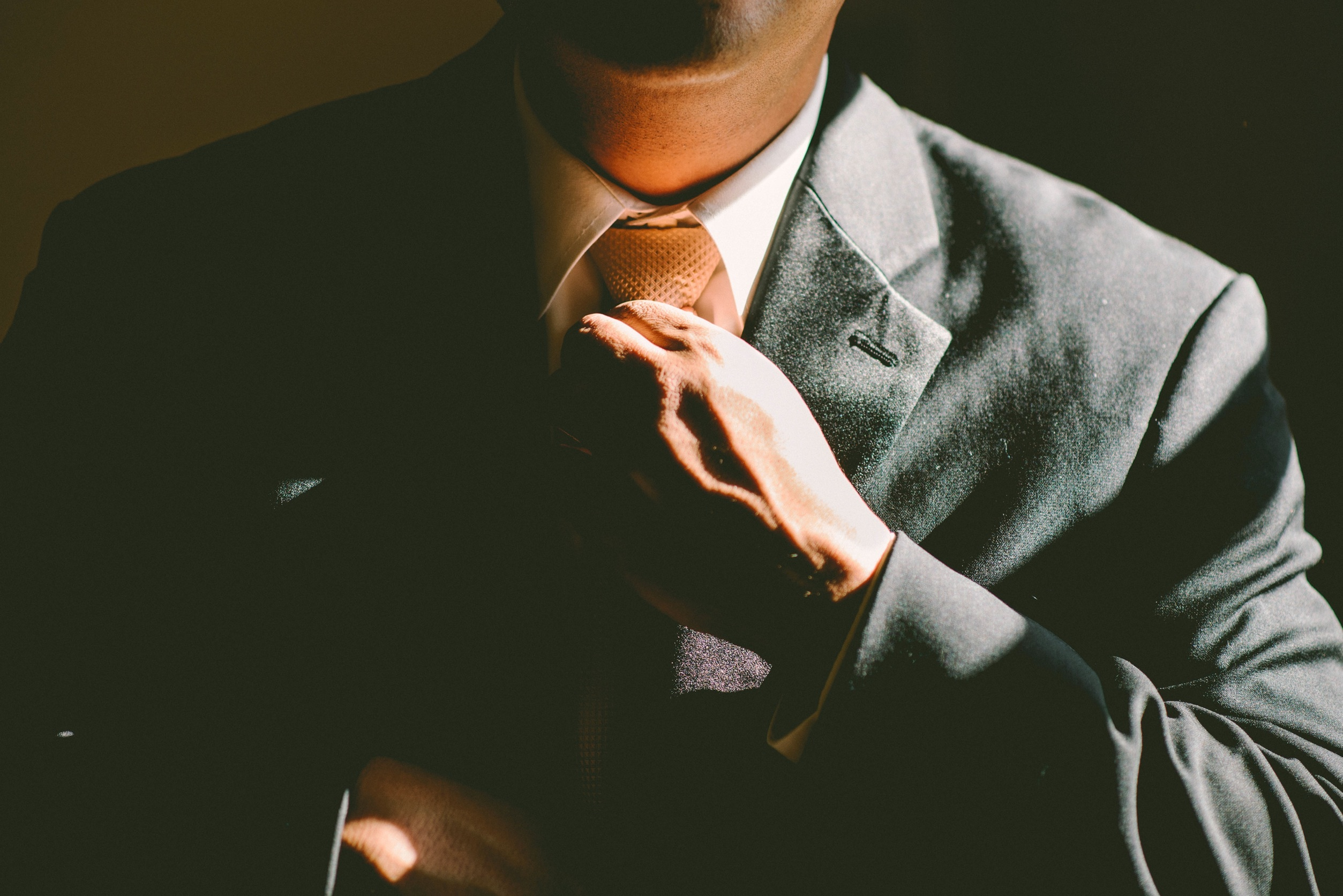 tie, necktie, adjust